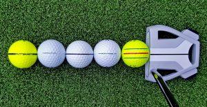 PuttBANDIT | Visibly Better Putting | Balls in a row