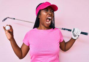 PuttBANDIT | Visibly Better Putting | Golfer shouting