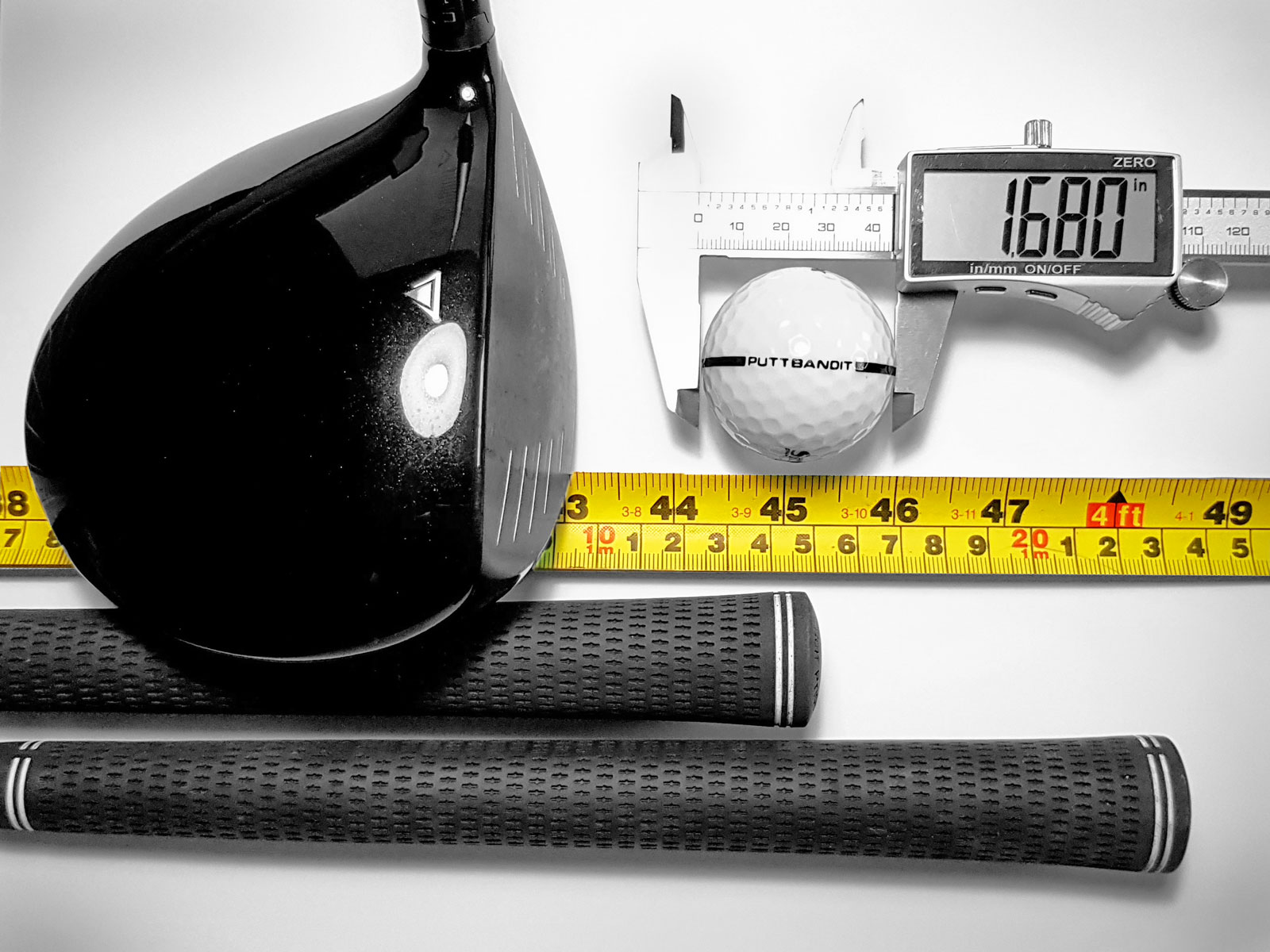 PuttBANDIT | Visibly Better Putting | Measuring tools