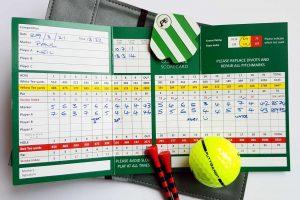 PuttBANDIT | Visibly Better Putting | Round 1 scorecard