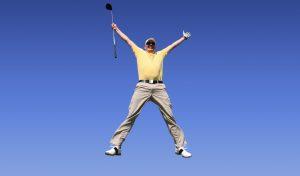 PuttBANDIT | Visibly Better Putting | Jumping man