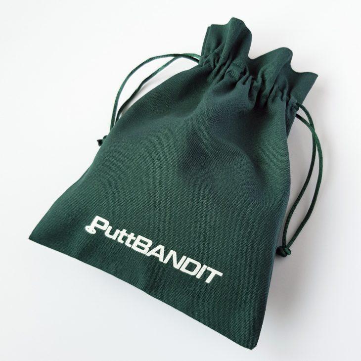 PuttBANDIT | Visibly Better Putting | Green bag