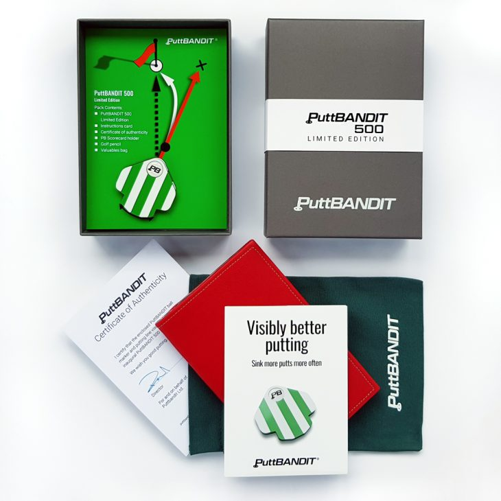 PuttBANDIT | Visibly Better Putting | Limited Edition pack