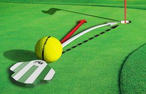 PuttBANDIT   Visibly Better Putting   Ball trajectory diagram